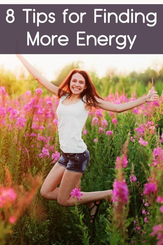 8 Tips for Finding More Energy ~
