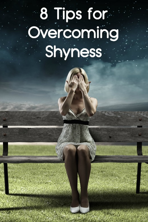 8 Tips for Overcoming Shyness ~