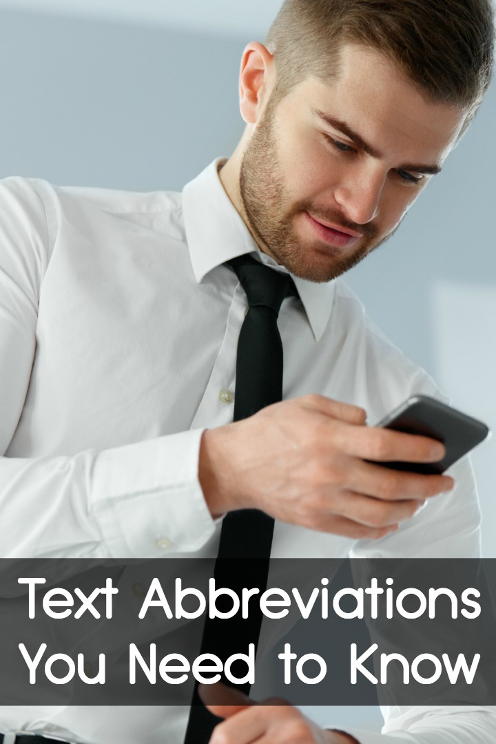 Text Abbreviations You Need to Know ~