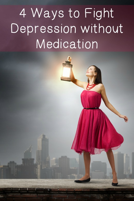 4 Ways to Fight Depression without Medication ~
