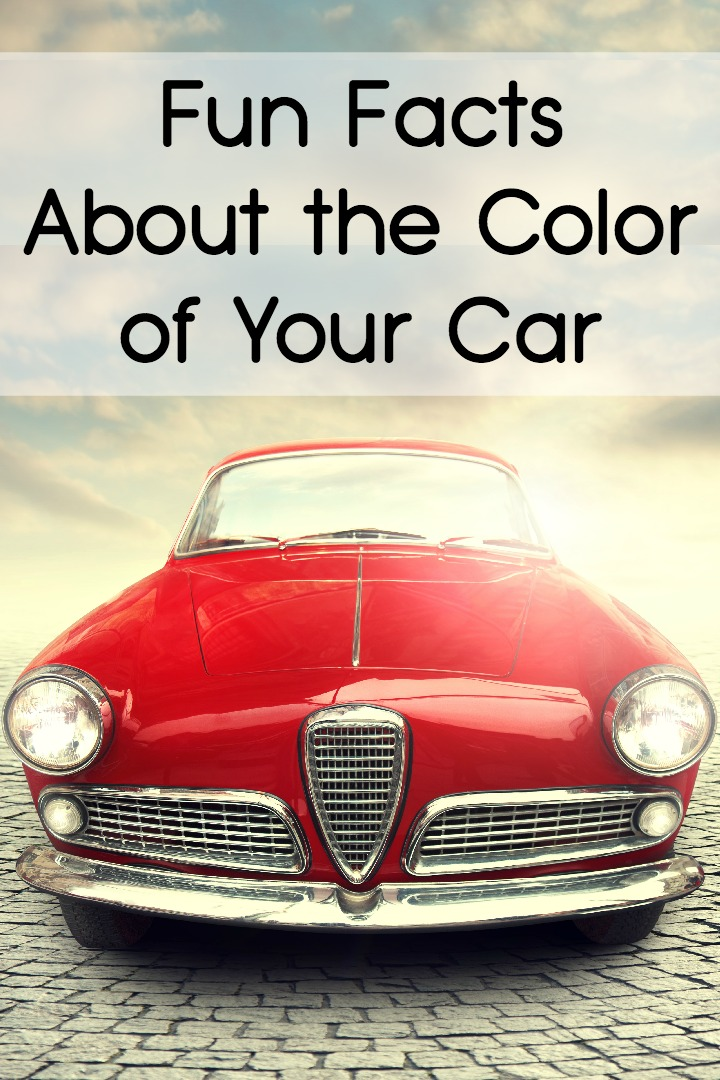 Fun Facts About the Color of Your Car ~