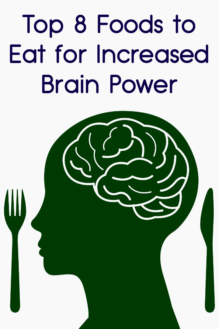 Top 8 Foods to Eat for Increased Brain Power ~