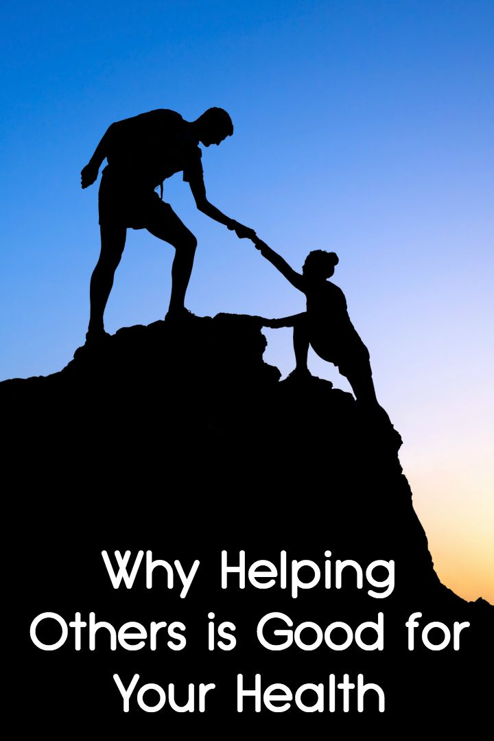 Why Helping Others is Good for Your Health ~