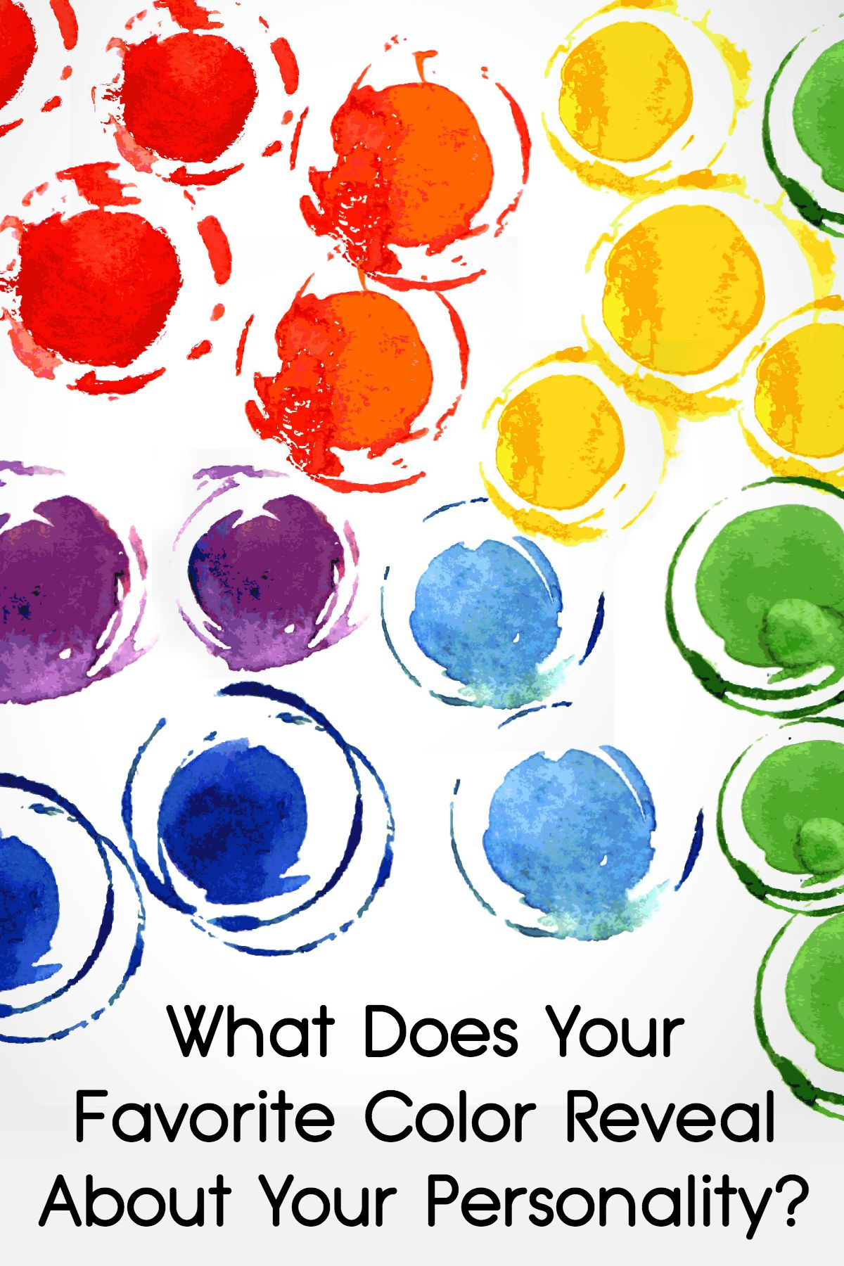 What Does Your Favorite Color Reveal About Your Personality ~