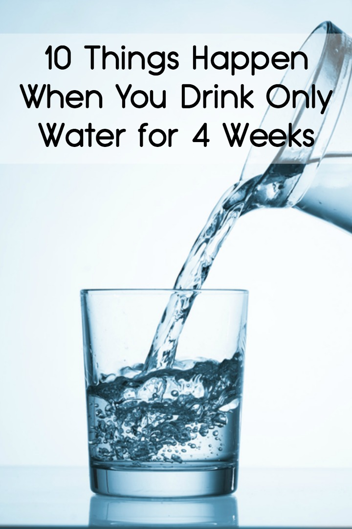 10 Things Happen When You Drink Only Water for 4 Weeks - https://facthacker.com/drink-only-water-for-4-weeks/